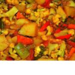 Mixed Vegetable Tempered Recipe